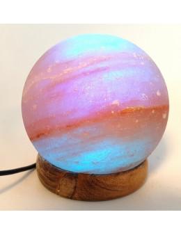 Mini Lampe de Sel USB Sphère Multi 1KG