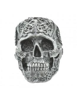 Crâne en résine sculptée