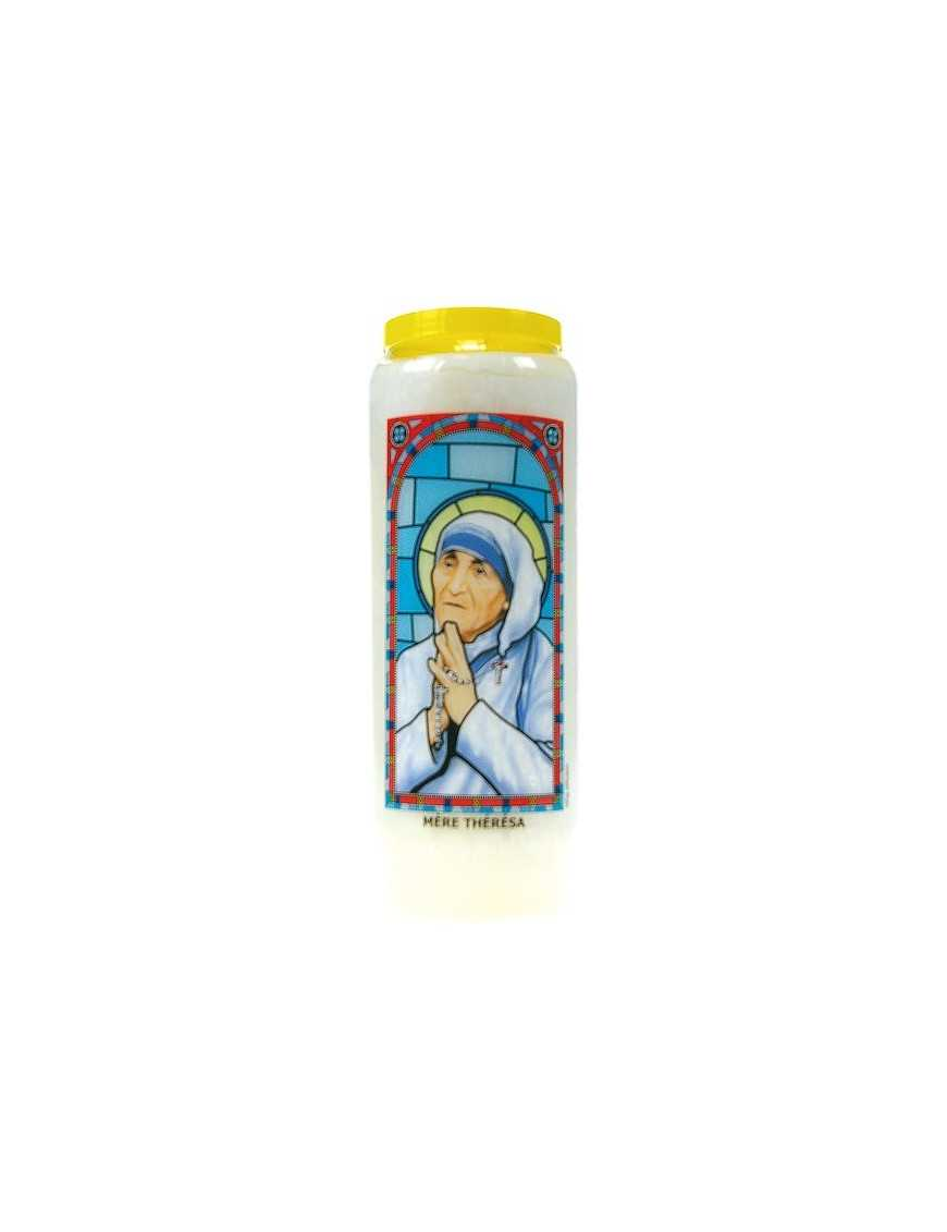Neuvaine vitrail : Mère Thérésa