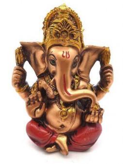 Statue Résine Ganesh Multi 12cm