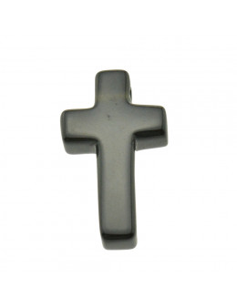 Pendentif croix en Onyx