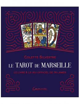 Le Tarot de Marseille - Coffret - Le livre & le jeu officiel de 78 lam