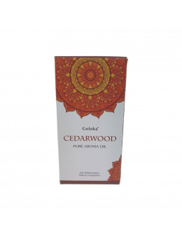 Huile parfumée Goloka 10 mL - Bois de cèdre