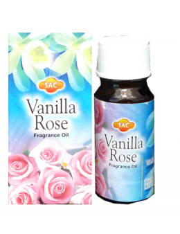Huile à bruler sac vanille rose