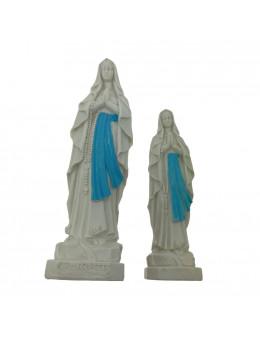 Statue Notre Dame de Lourdes en résine peinte incassable