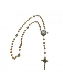 Chapelet chaine Saint benoit avec coeur électtonique