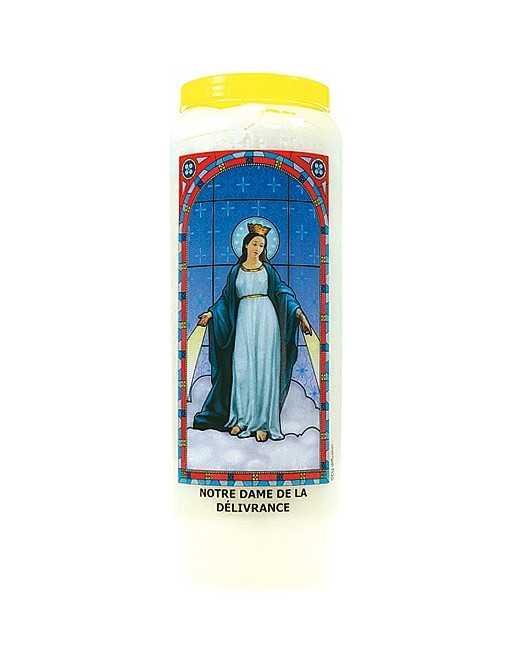 Neuvaine vitrail : Notre Dame de la Délivrance