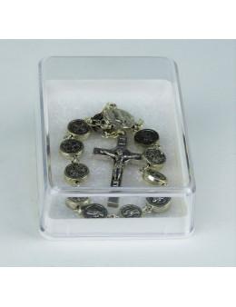 Dizainier métal argenté St Benoit