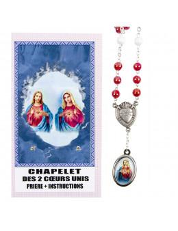 Chapelet des 2 coeurs unis prière + instructions