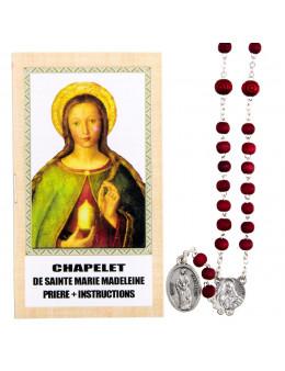 Chapelet de sainte Marie Madeleine