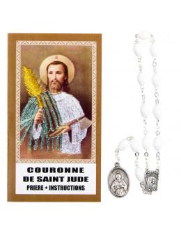 Chapelet couronne de Saint Jude