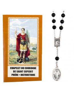 Chapelet ou couronne de Saint Expedit