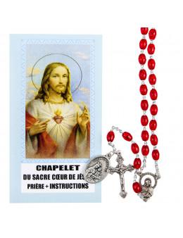 Chapelet du sacre coeur de Jesus