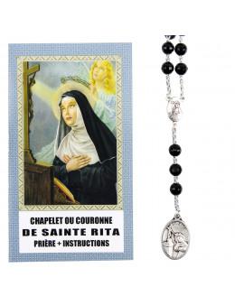 Chapelet ou couronne de Sainte Rita