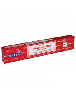 Encens Satya Feu du dragon 15 grammes