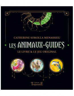 Les Animaux guides - Coffret - Le livre et le jeu original