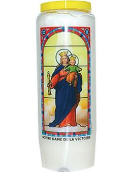 Neuvaine vitrail : Notre Dame de la Victoire