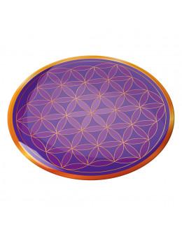 Symbole 3D autocollant Fleur de vie présence angélique