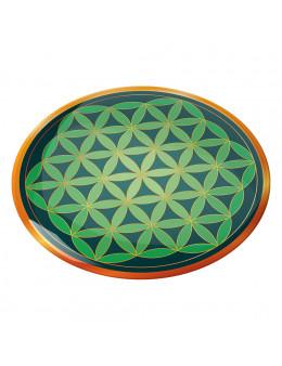 Symbole 3D autocollabt Fleur de vie guérison séraphique