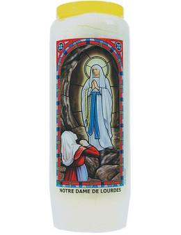 Neuvaine vitrail : Notre Dame de Lourdes