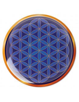 Symbole 3D autocollant Fleur de vie miséricorde céleste
