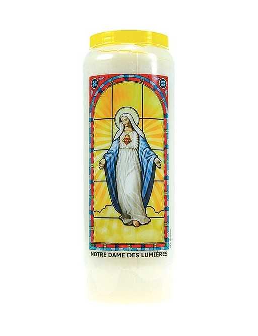 Neuvaine vitrail : Notre Dame des Lumières