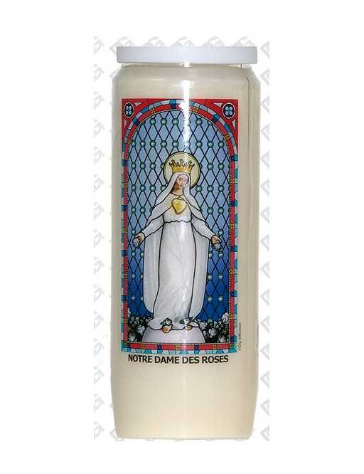 Neuvaine vitrail : Notre Dame des Roses