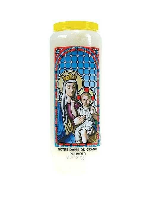 Neuvaine vitrail : Notre Dame du Grand Pouvoir