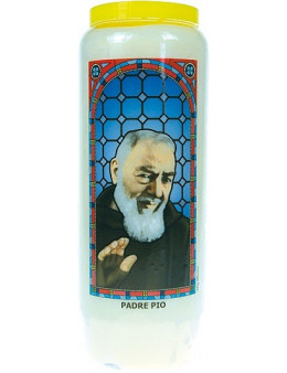 Neuvaine vitrail : Padre Pio