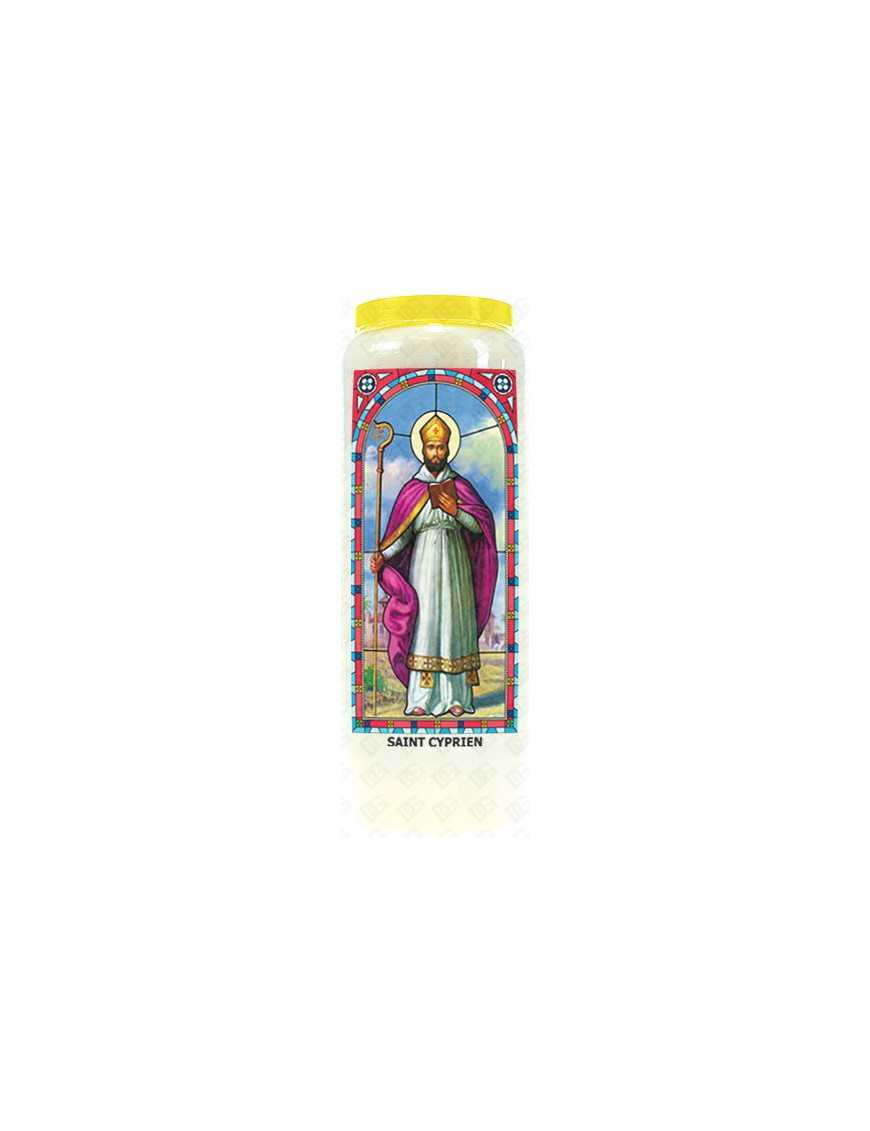 Neuvaine vitrail : Saint Cyprien