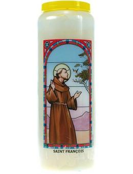 Neuvaine vitrail : Saint François