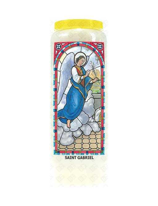 Neuvaine vitrail : Saint Gabriel
