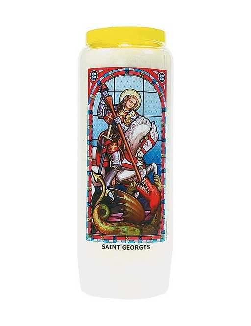 Neuvaine vitrail : Saint Georges