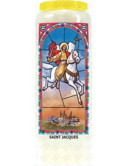 Neuvaine vitrail : Saint Jacques