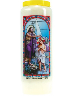 Neuvaine vitrail : Saint Jean-Baptiste
