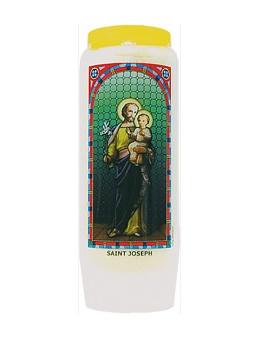 Neuvaine vitrail : Saint Joseph