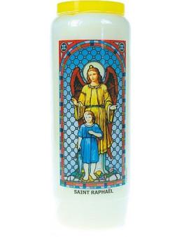 Neuvaine vitrail : Saint Raphaël