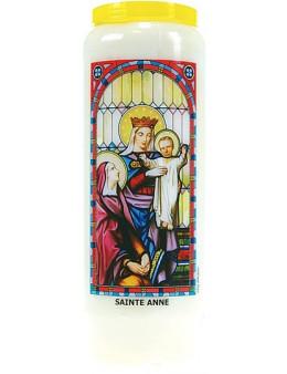 Neuvaine vitrail : Sainte Anne