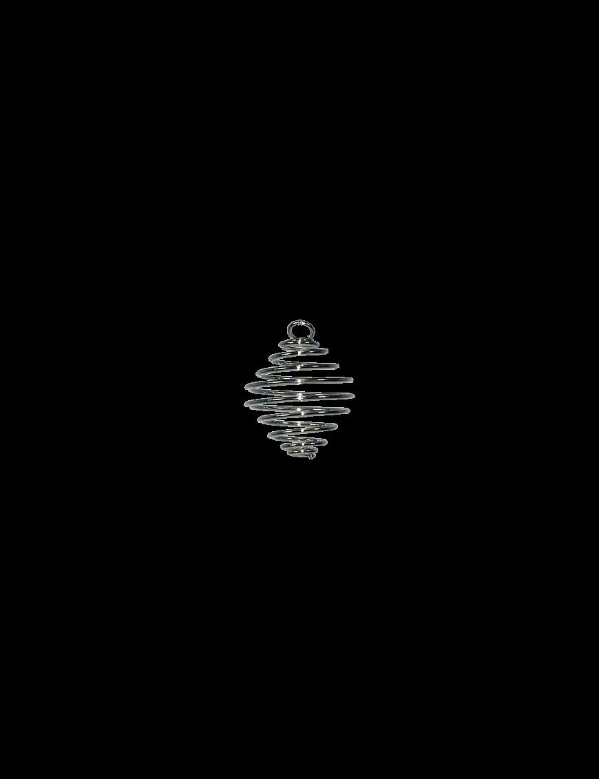 Spirale argentée