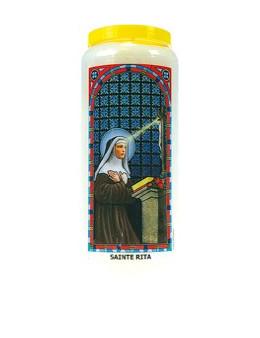 Neuvaine vitrail : Sainte Rita
