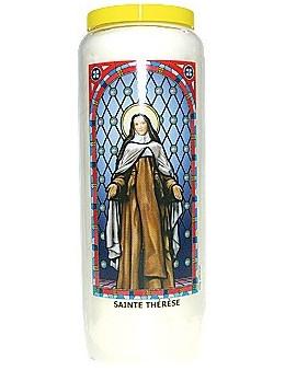 Neuvaine vitrail : Sainte Thérèse