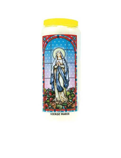 Neuvaine vitrail : Vierge Marie