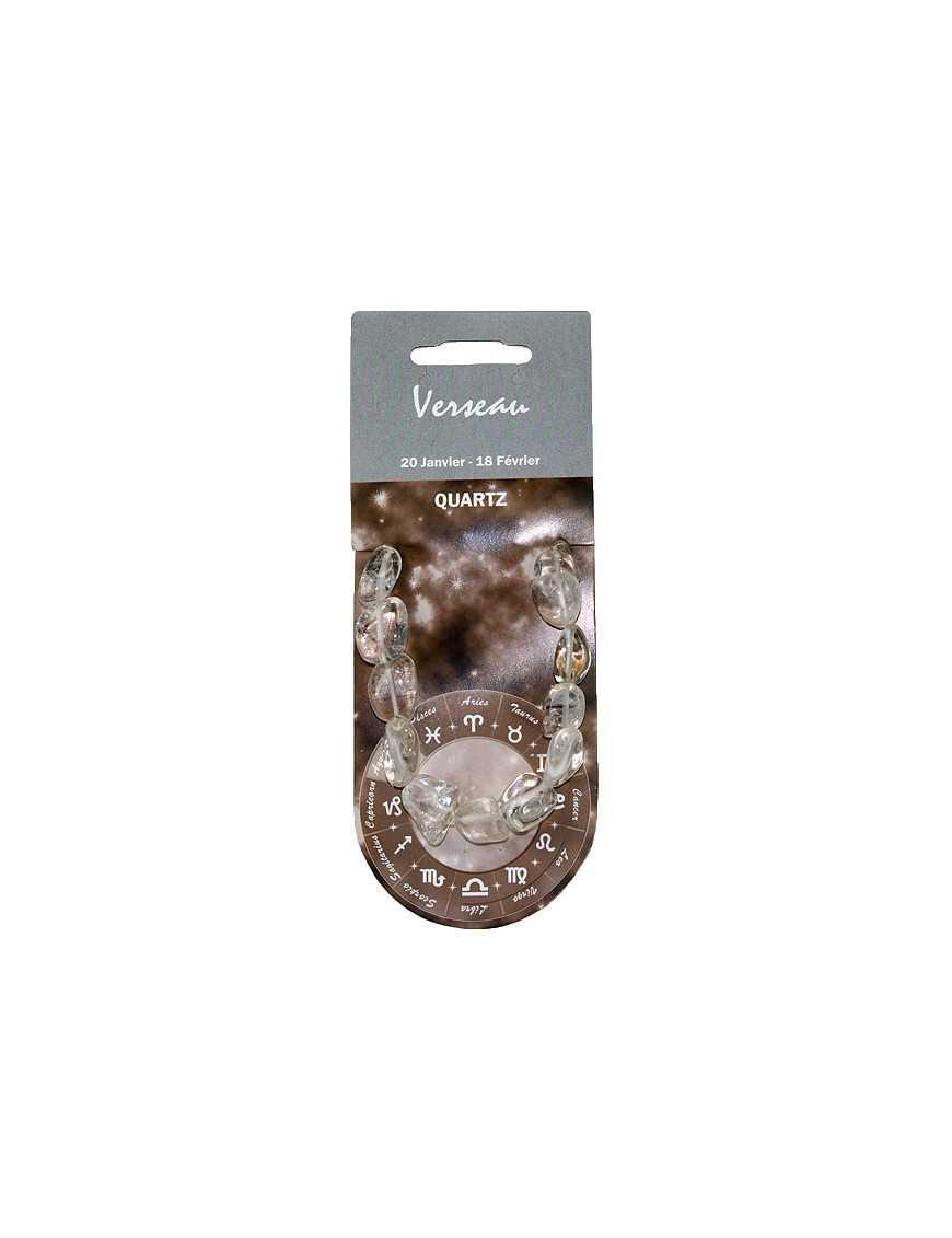 Bracelet Zodiac Verseau Quartz