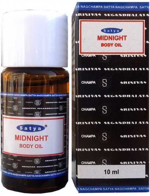 Body Oil SATYA Midnight 10ml
