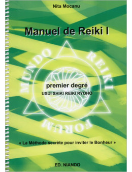 Manuel de reiki premier degré