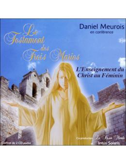 Testament des trois maries livre audio 2 CD