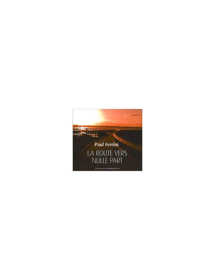 La route vers nulle part - Livre audio 3 CD