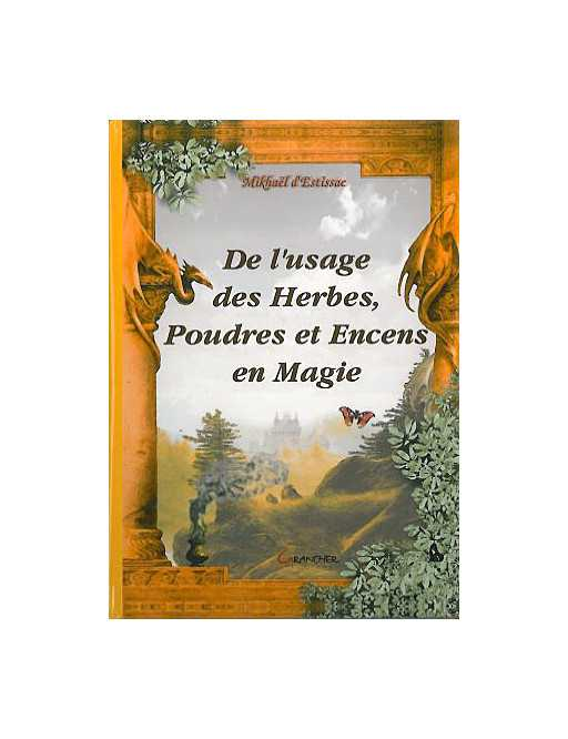 Usage herbes poudres encens