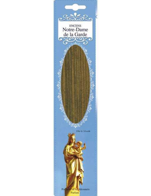 Encens baguettes Notre  Dame  de la garde