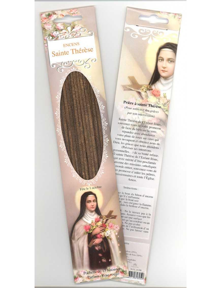 Encens baguettes Sainte Thérèse